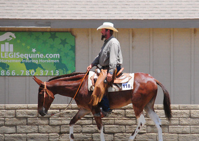 Matt Walsh in the Western Class at the ETI Convention