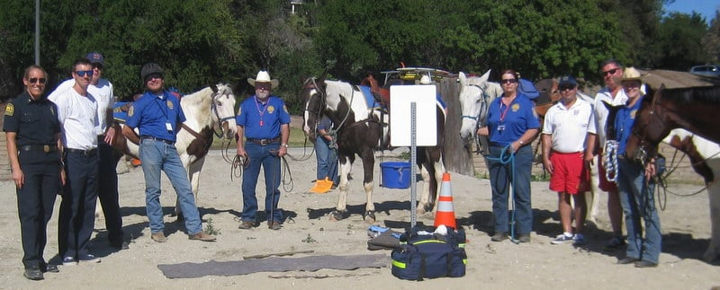 Mounted Assistance Unit MAU Multi Unit Training Beach